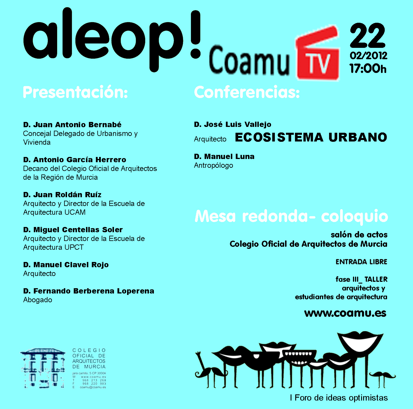 VÍDEO CONFERENCIA INAUGURAL TALLER ALEOP