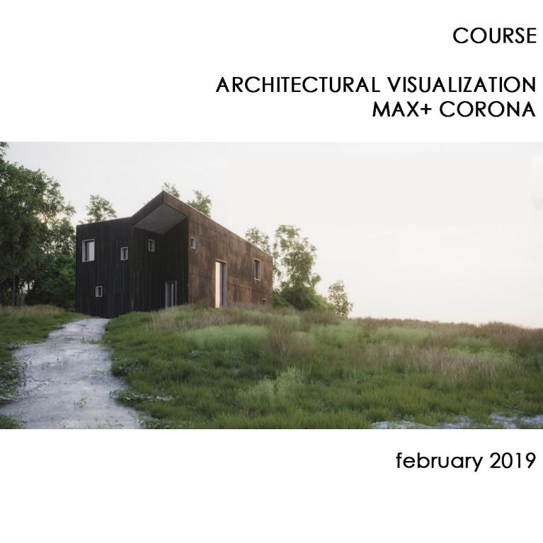 COURSE ONLINE ARCHITECTURAL VISUALIZATION MAX+CORONA (ENGLISH CLASS)